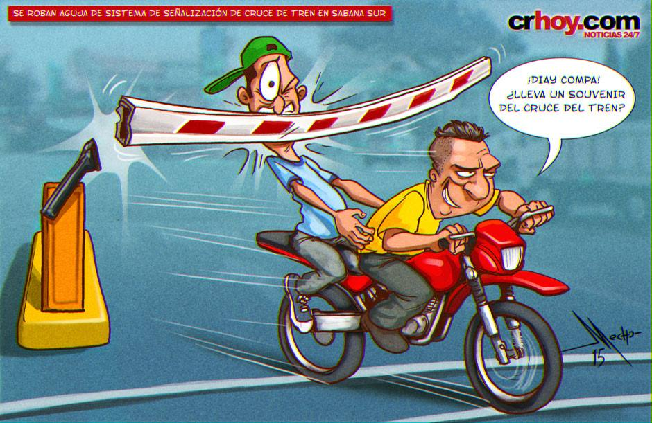 QToons: How Ticos See the Level Crossings