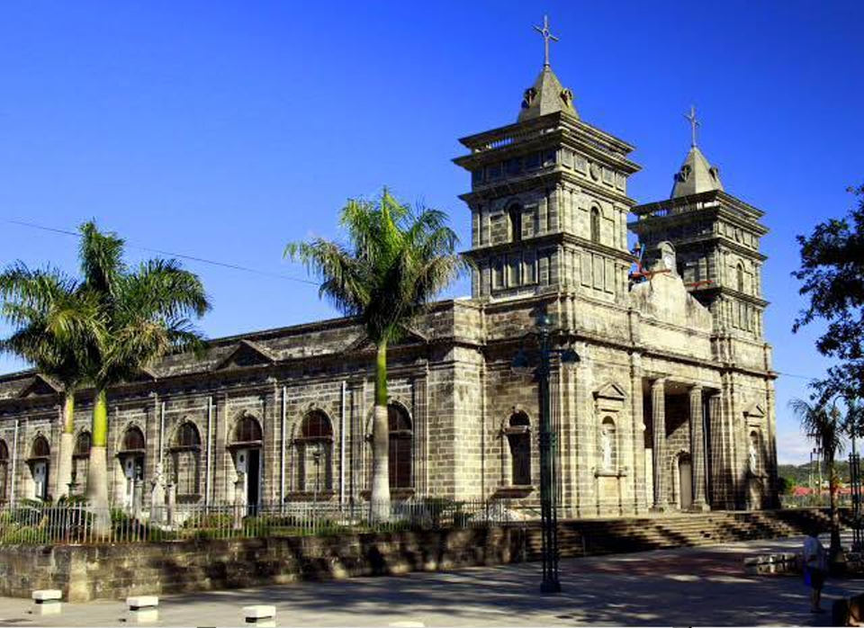 The Catholic church in Palmares