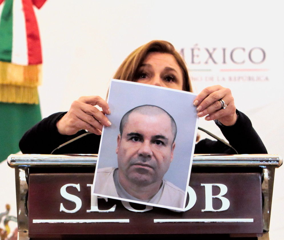 Most recent photo of El Chapo by Mexican authorities