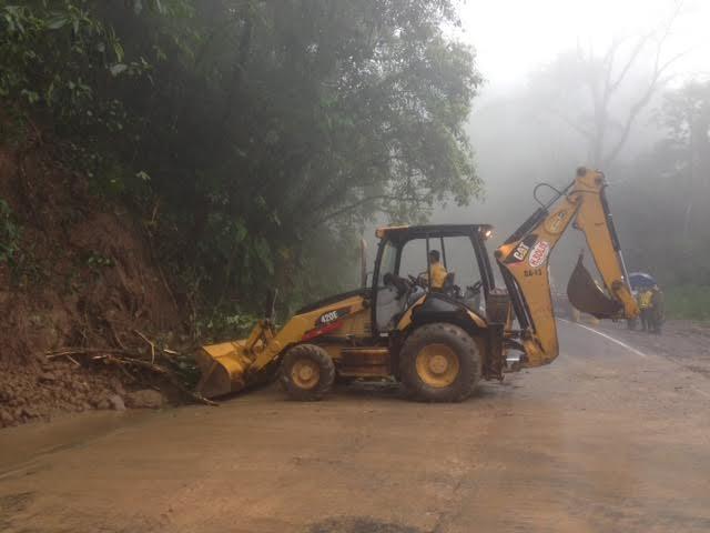 Ruta 32 Once Again Closed Due To Heavy Rain