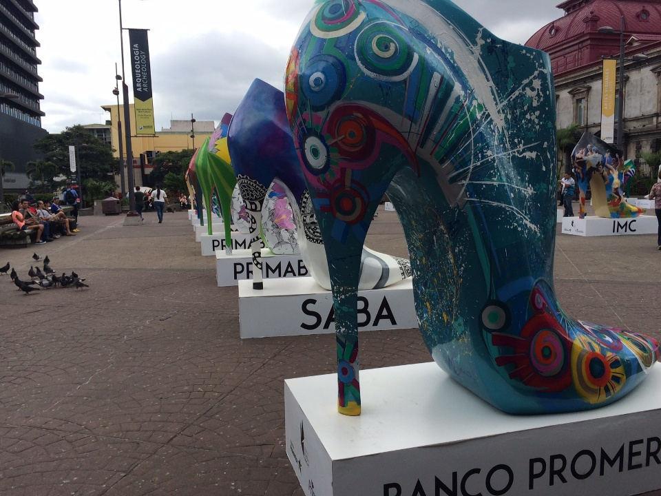 MAC Brings Giant Shoes to Downtown San José