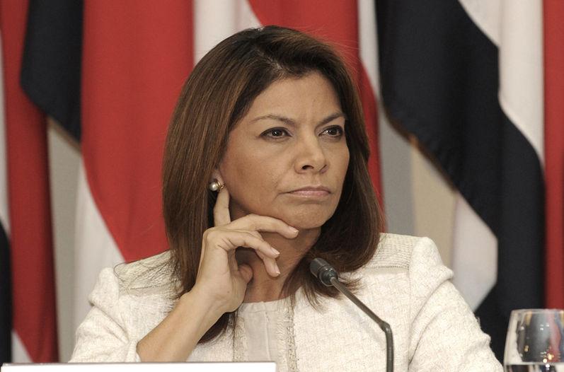 Former President Laura Chinchilla.