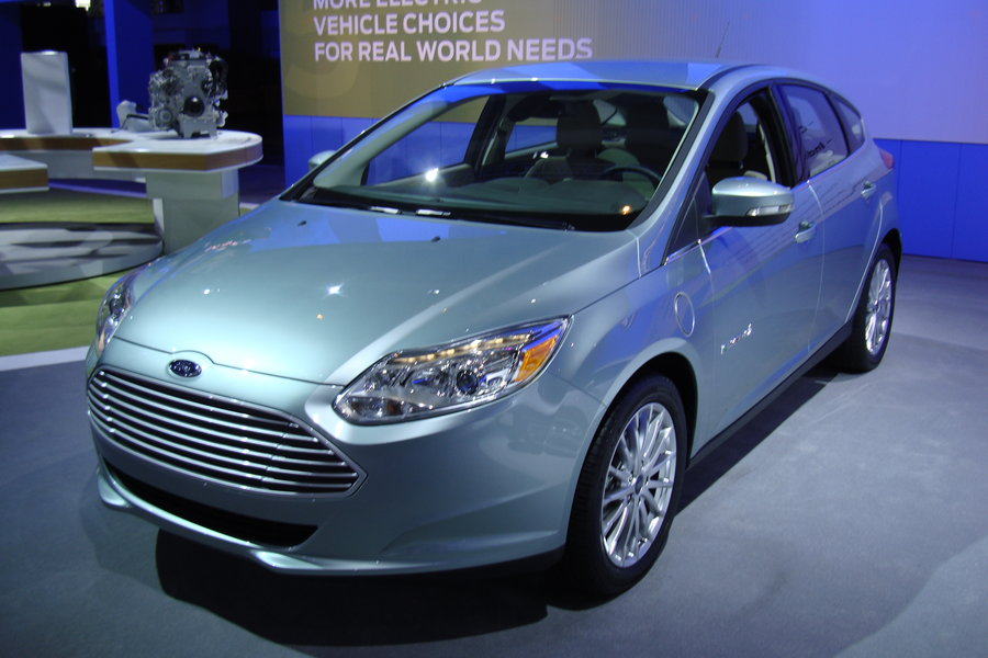 Ford Focus Electric (Pic: BeCarChic, Flickr)
