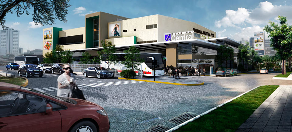 Artist rendering of the neew terminal. Photo Portafolio Inmobilario