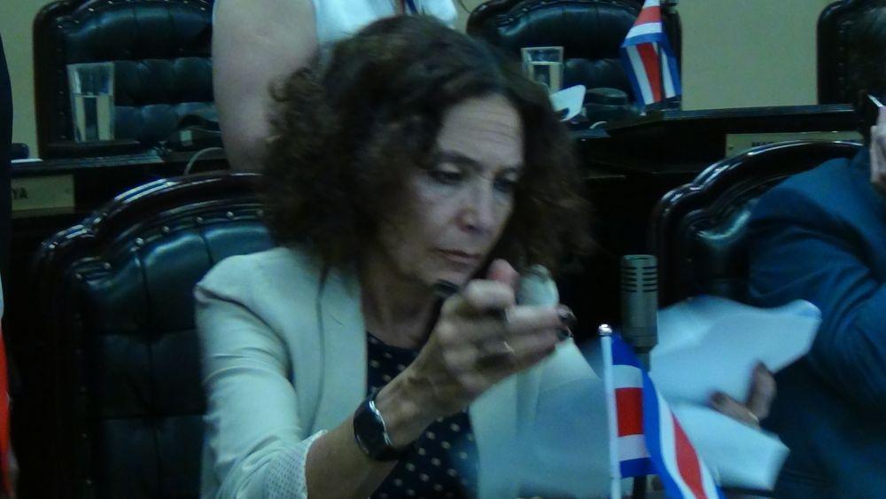 Frente Amplio legislator Patricia Mora