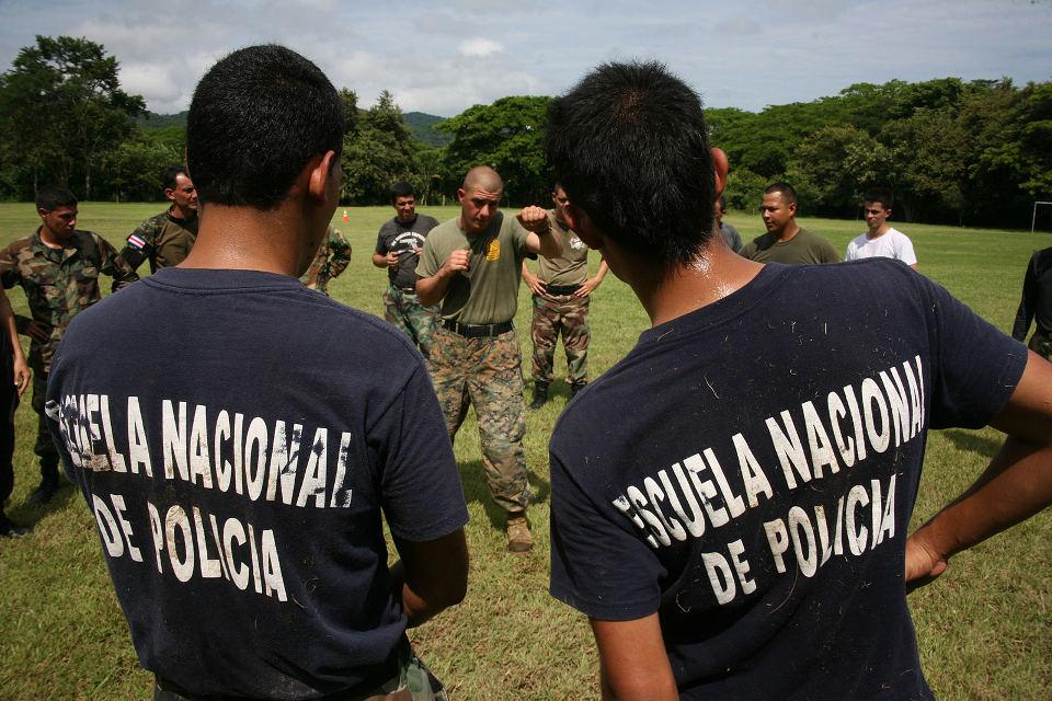 """Marines Train in Costa Rica"" by Daniel Negrete."