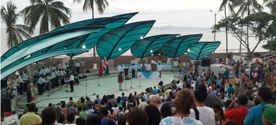 Puntarenas Inaugurates Amphitheatre