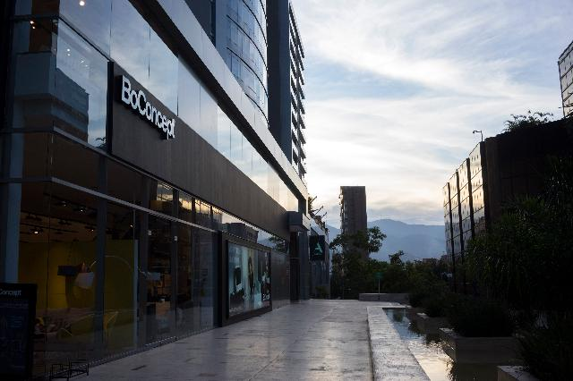 The Danish furniture store BoConcept stands in Medellin, Colombia. Photographer: Mariana Greif Etchebehere/Bloomberg