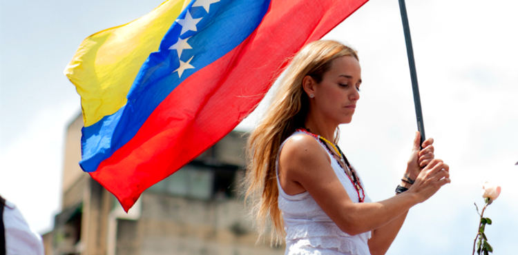Tintori says her husband, Leopoldo López, remains in good spirits despite his conviction. (Wikipedia)
