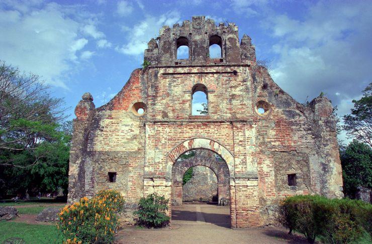 Ruins, culture in Costa Rica