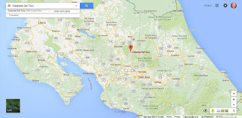 google-catarata-del-toro-map