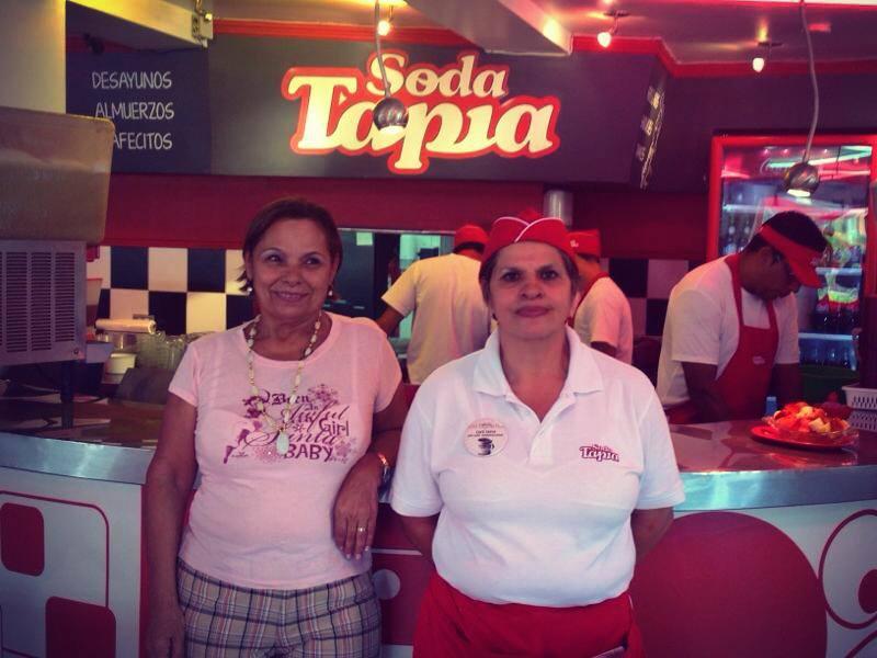 Soda Tapia staff