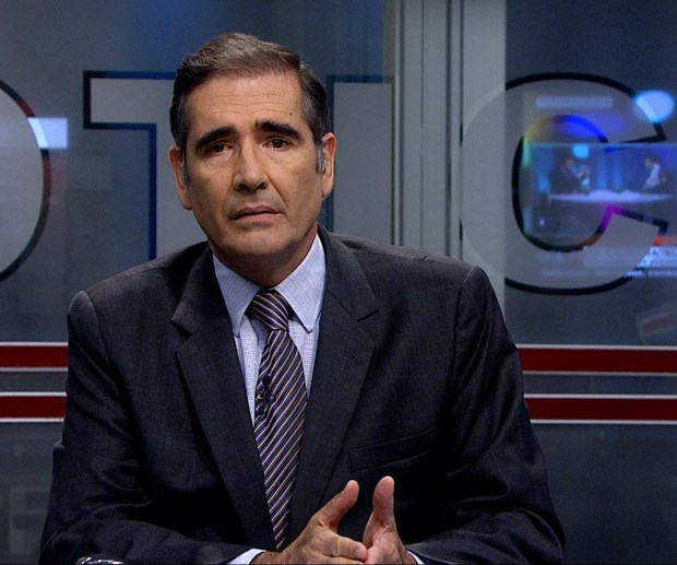 Ignacio Santos, journalist and director of Telenoticias news