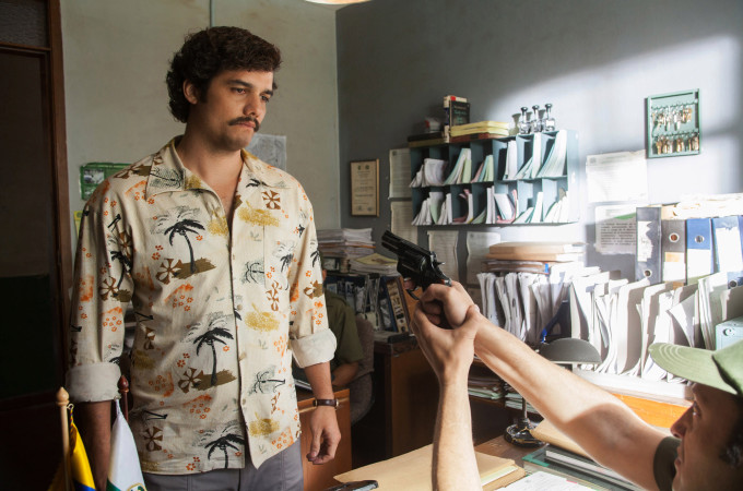 """Narcos"" tells the story of Escobar's vast drug empire. Photo: AP"