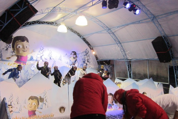 Snow wars and honing snowball skills is one of the attractions at City Mall starting on November 21