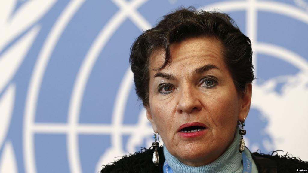 Karen Christiana Figueres Olsen is a Costa Rican diplomat.