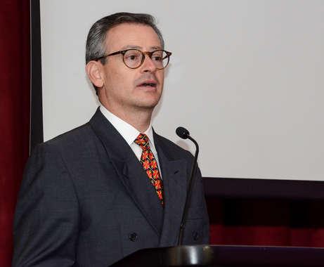 Costa RIca's Foreign Minister,  Manuel Gonzalez Sanz