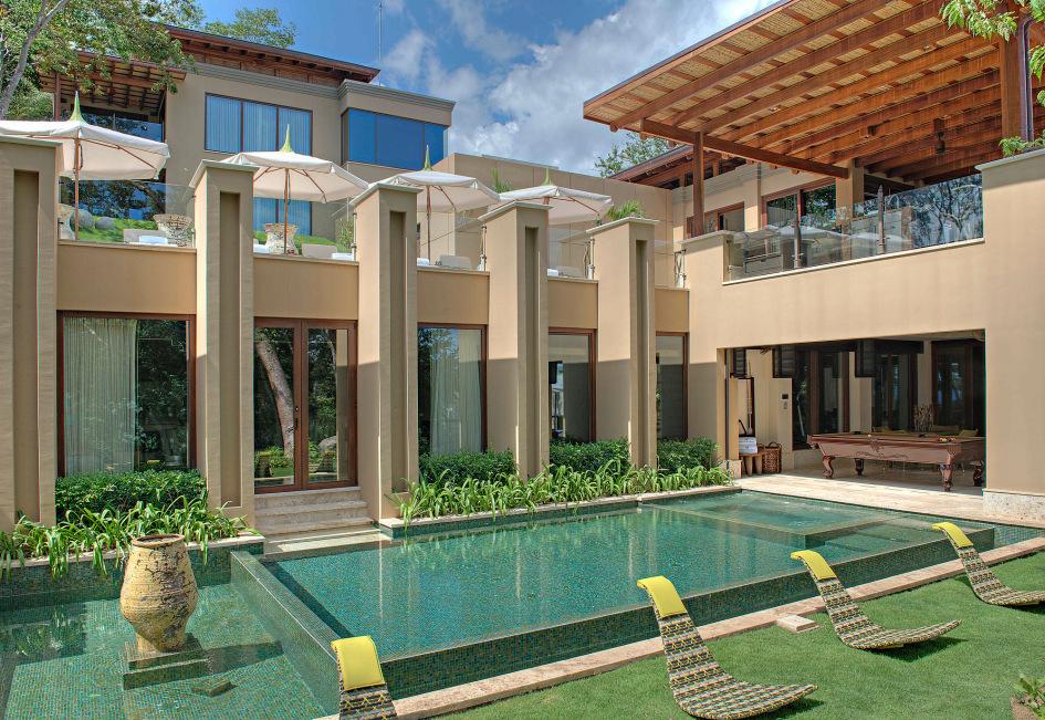 Poolside at Villa Manzu.
