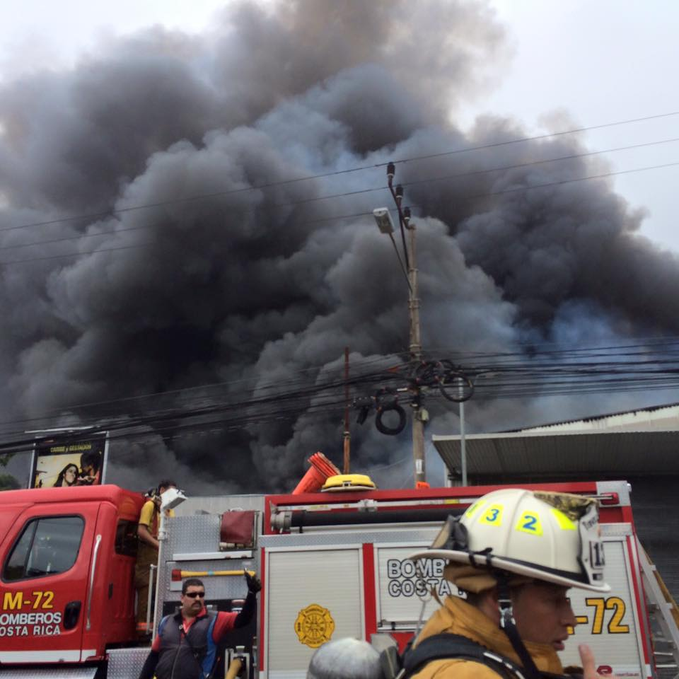 The Heredia Fire Wednesday Morning