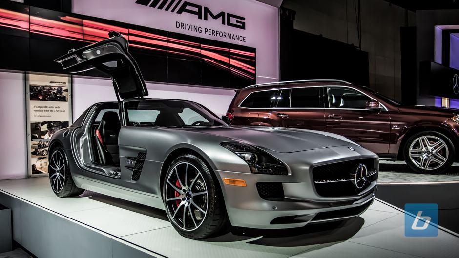 2014 Mercedes Benz SLS GT AMG. Photo for illustrative purposes