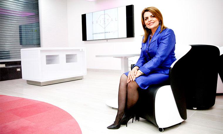 Kattia Morales, manager of corporate relations at the Banco de Costa Rica (BCR