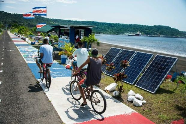 Costa Rica expects 97% of its energy generation to come from renewable sources this year. Photo: Ezequiel Becerra, AFP