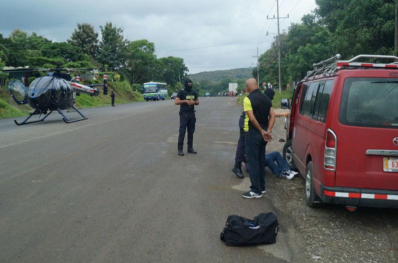 Photo from Costa Rica immigration service, the Dirección General de Migración y Extranjería