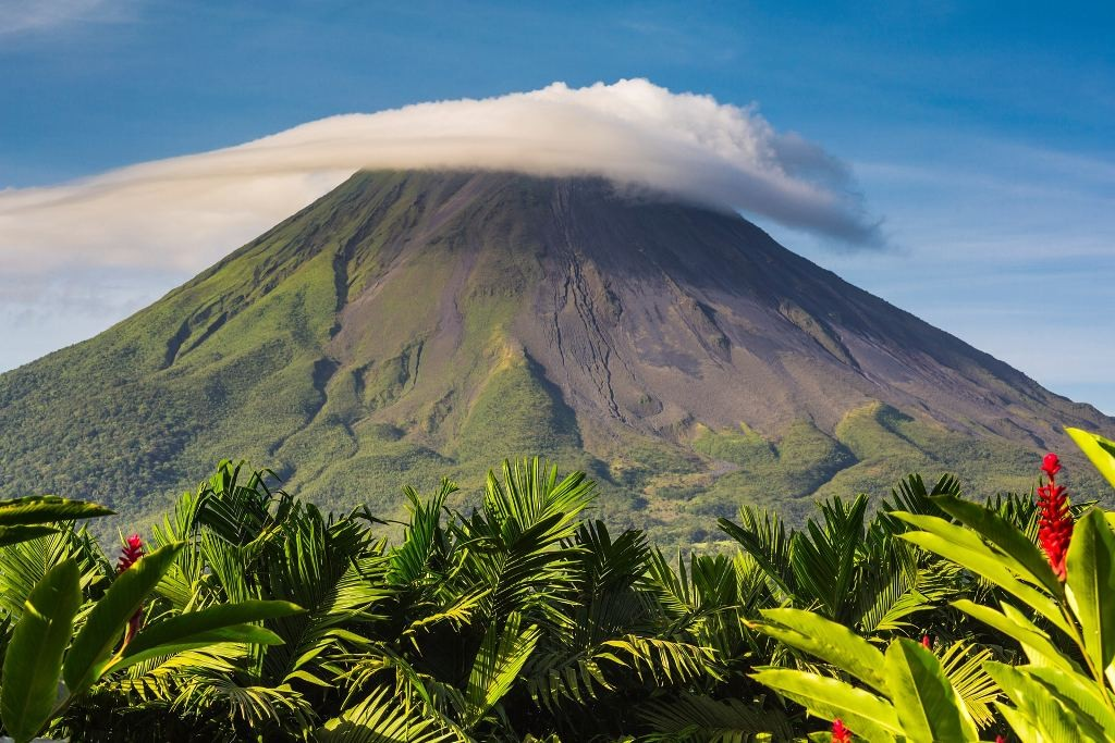Arenal at sunrise. Photograph: Getty Images/AWL Images RM