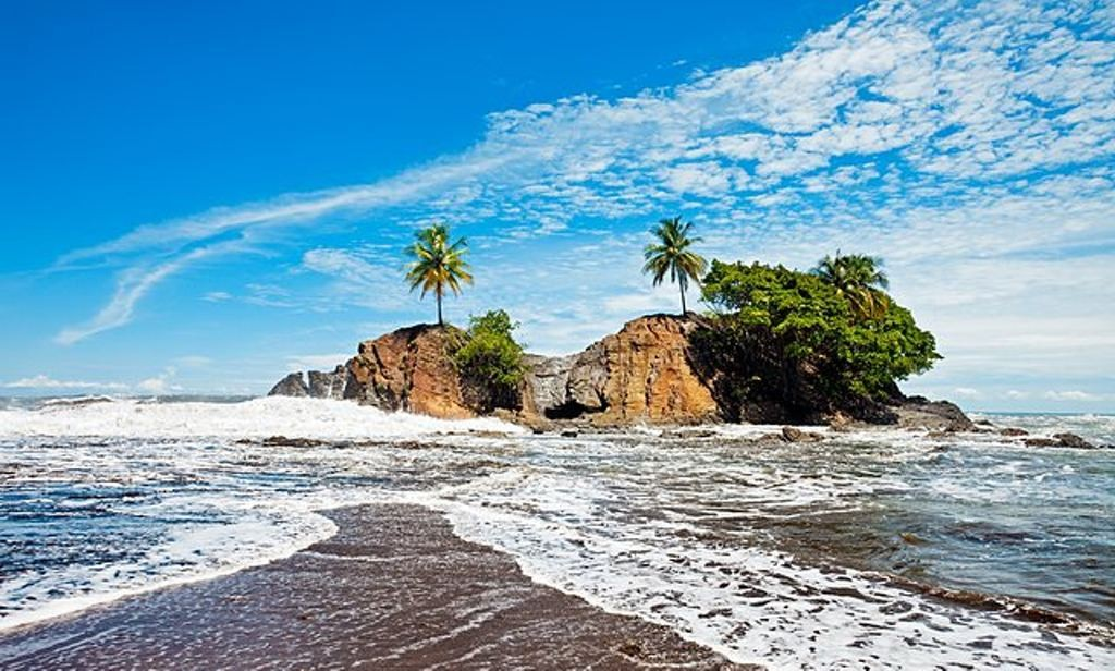 Playa Dominical, Marino Ballena national park. Photograph: Alamy