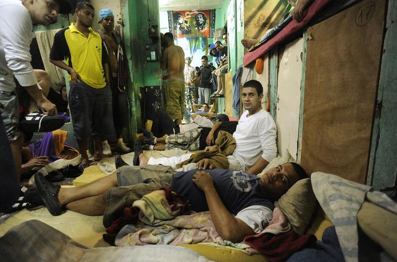 Prison overcrowding in Costa Rica. File photo by Eyleen Vargas, La Nacion