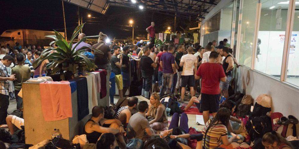 Cuban migrants stranded in Costa Rica hopeful of a solution to the crisis