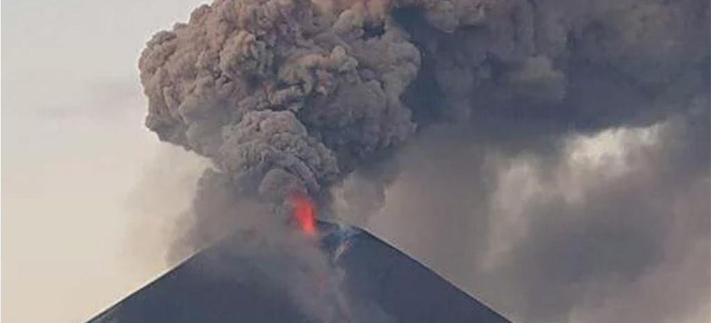 Momotombo eruption December 1, 2015