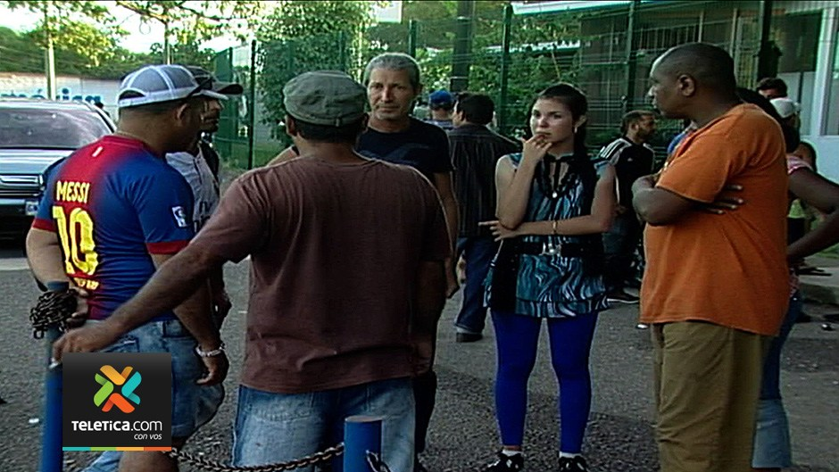 56 Cuba migrants, men and women, are being held at the Hatillo immigration detention centre awaiting their deportation to Cuba.