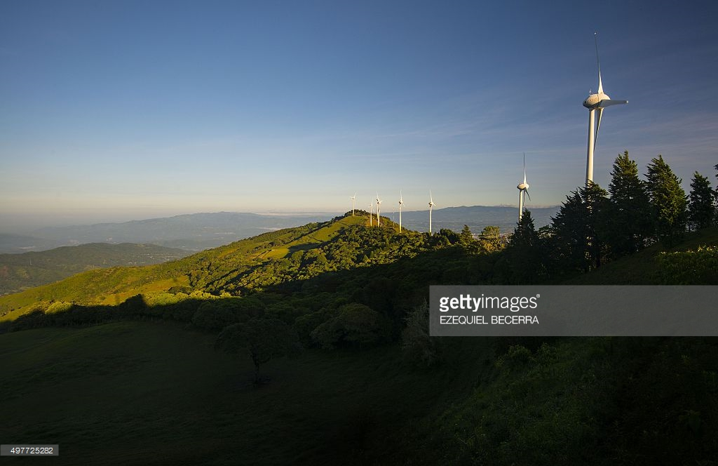 Costa Rica's Wind Turbines Could Become Part Of Eco-themed Park