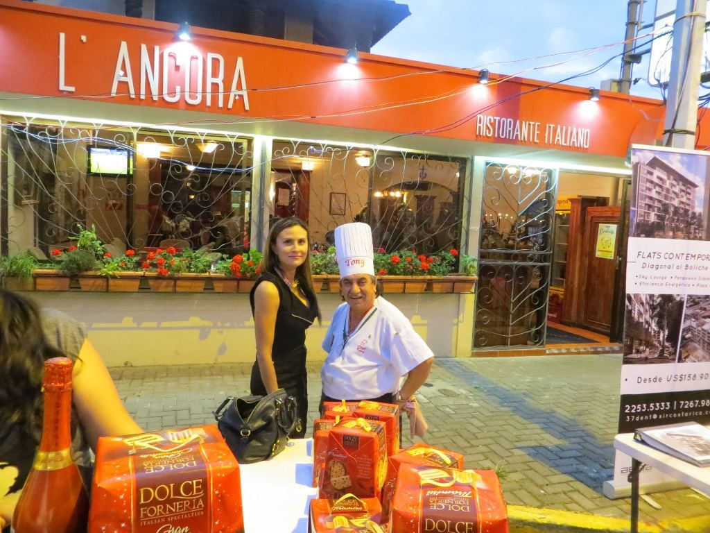 Tony D'Alaimo, from L'Ancora Restaurant, is one of the fixtures on Paseo Gastonomico, and some say, one of its biggest promoters.