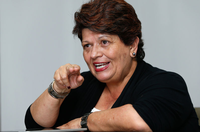 Planning minister Olga Marta Sánchez says she sold the vehicle and the new owner has not transferred title.