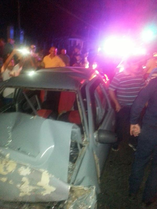The first traffic accident fatality of 2016 was recorded at 12:02am January 1. Photo Alexander Brenes