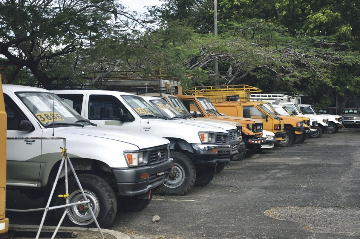 ICE vehicle auction will be on February 11 in Pavas