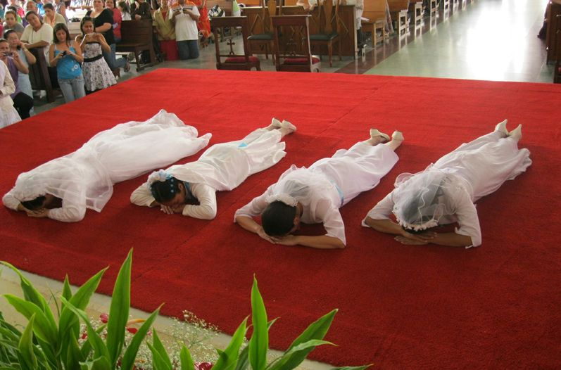 In 2011 Carthage revive the sort of rite consecrated virgins