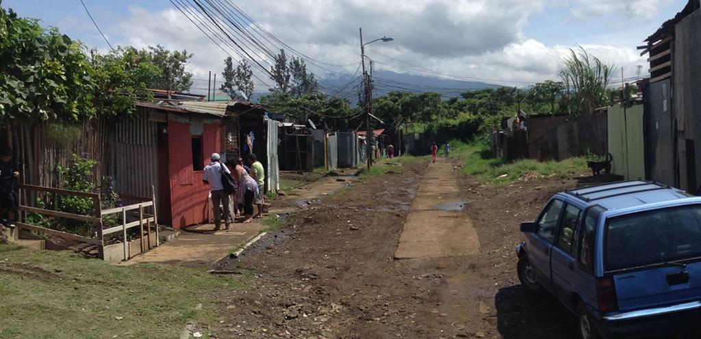 Los Cuadros section of the Goicoechea township, near the capital city of San José,