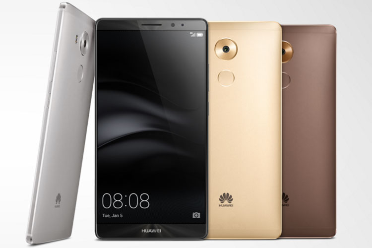 The Mate 8 has a fingerprint identification system for payments, improved camera audio and microphone technology.