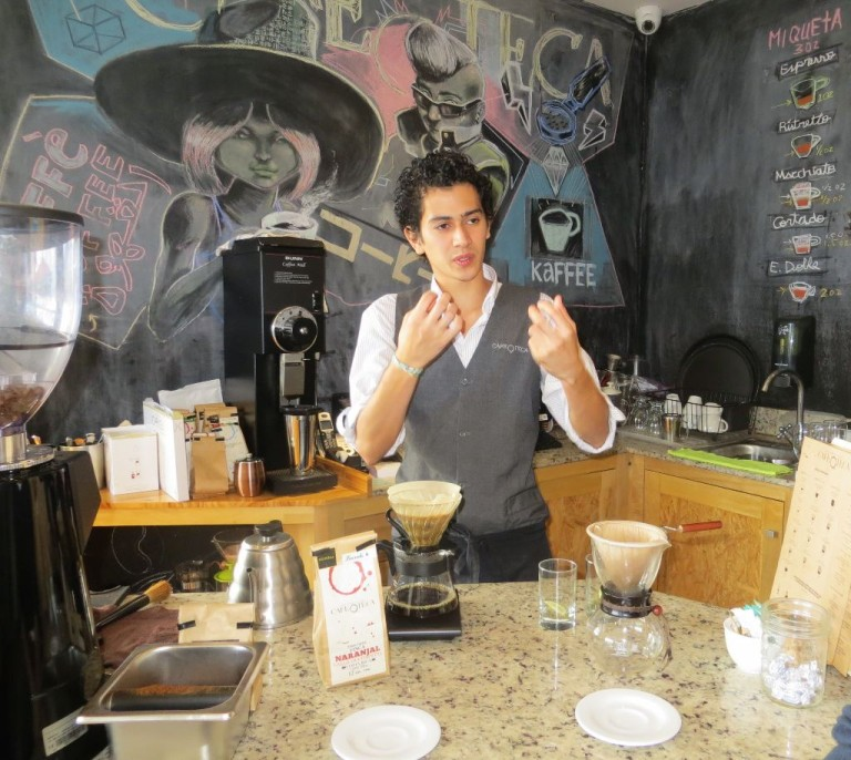 Finding a Good Cup of Coffee in Downtown San José