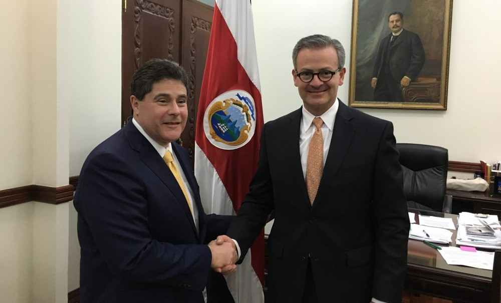 Roque said he met with Foreign Minister, Manuel Gonzalez