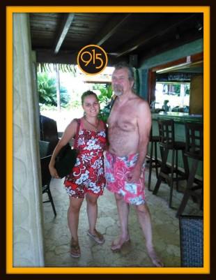 Robert Plant Vacationing in Costa Rica