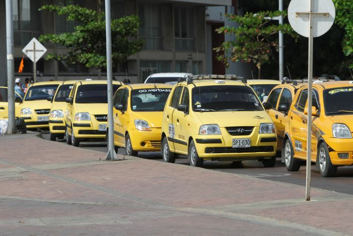 Colombia taxis