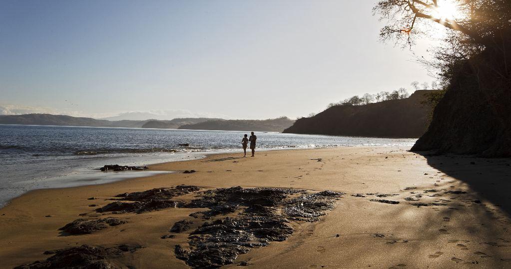 manzanillo beach. costa rica
