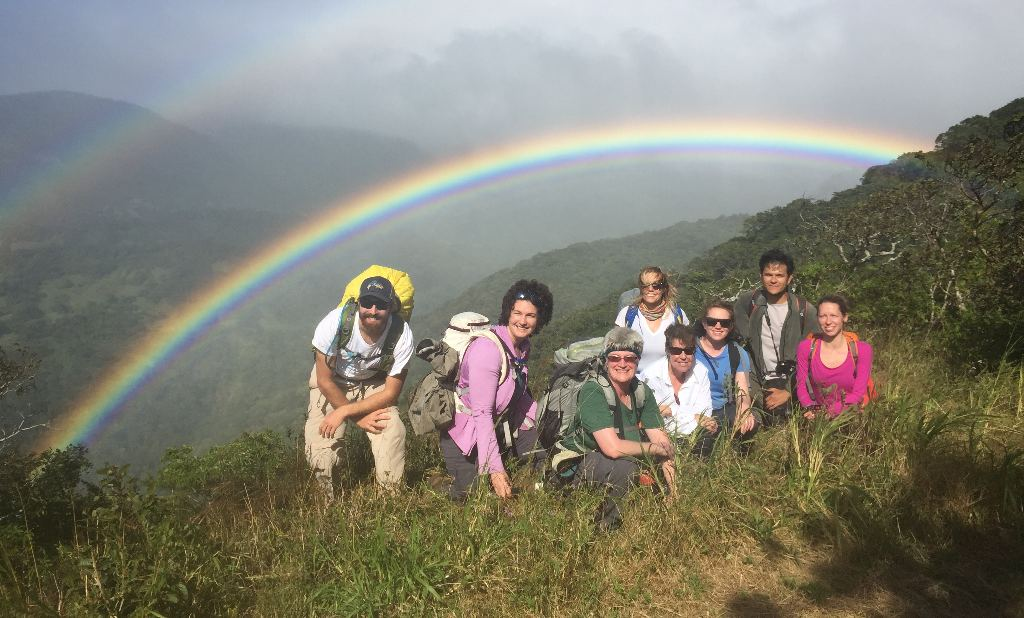 International partnerships help sustain Costa Rica's biodiversity. Photo courtesy Dr. Jessica Young