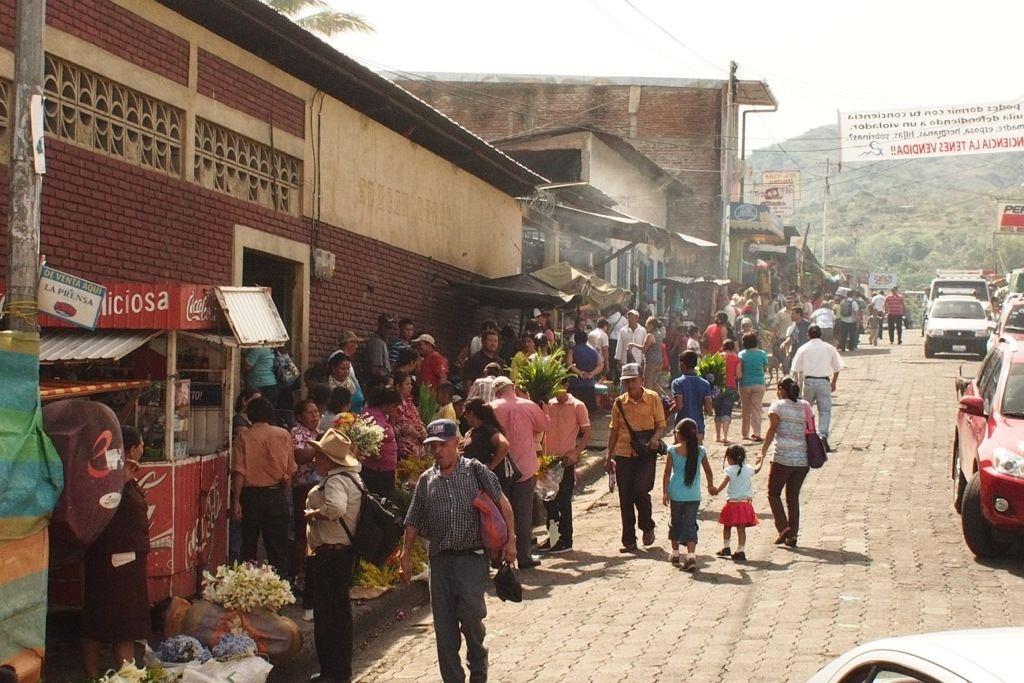 Mercado de la calle, Matagalpa, Nicaragua