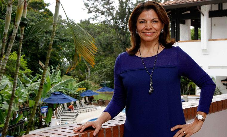 Laura Chinchilla Miranda, former president of Costa Rica, 2010-2014.