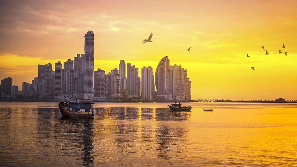 Panama City Panama's Cityscape (Credit: Panama Tourism Authority and Copa Airlines)
